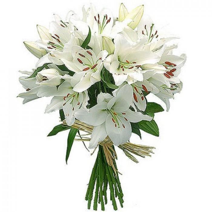 Лилии цветов букеты
